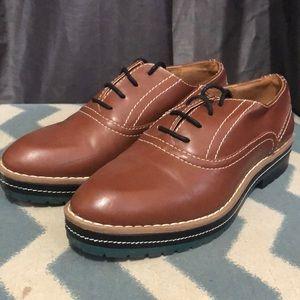 H&M platform Oxford Shoes